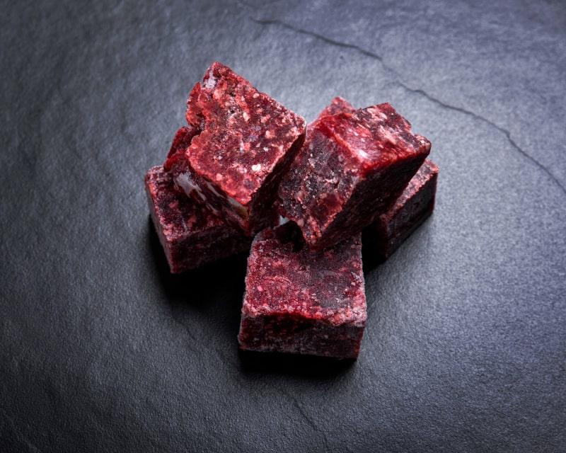 Wild Venison Pet Mince Cubes 1kg-2